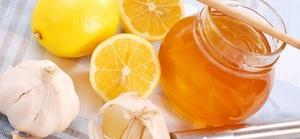 Очистка сосудов медом чесноком и лимоном