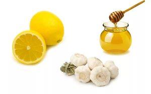 Как использовать смесь из меда чеснока и лимона
