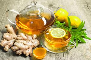 Способы приготовления напитков из имбиря, лимона и мёда