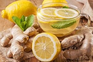 Рецепт приготовления напитка из имбиря и лимона