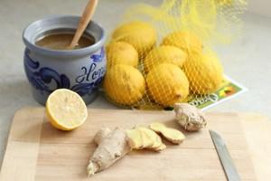 Способ приготовления чая из имбиря, лимона и мёда