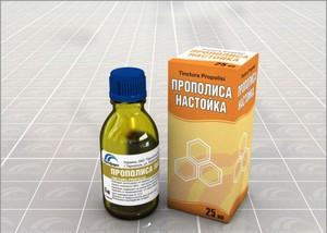 Настойка прополиса - аптечное средство