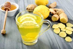 Рецепт для иммунитета с имбирем, медом и лимоном