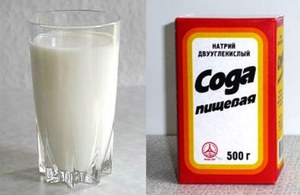 Молоко с содой - лекарство от кашля и боли в горле